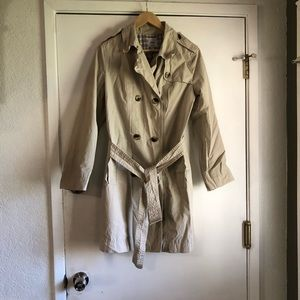 Gap Half Trench Belted Coat Size M